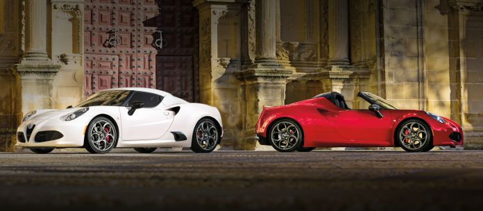 Alfa Romeo 4c Coupe Vs Alfa Romeo 4c Spider See Which One S Right For You