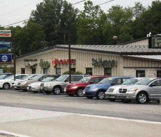 About Solomon Chyrsler Jeep Dodge Carmichaels