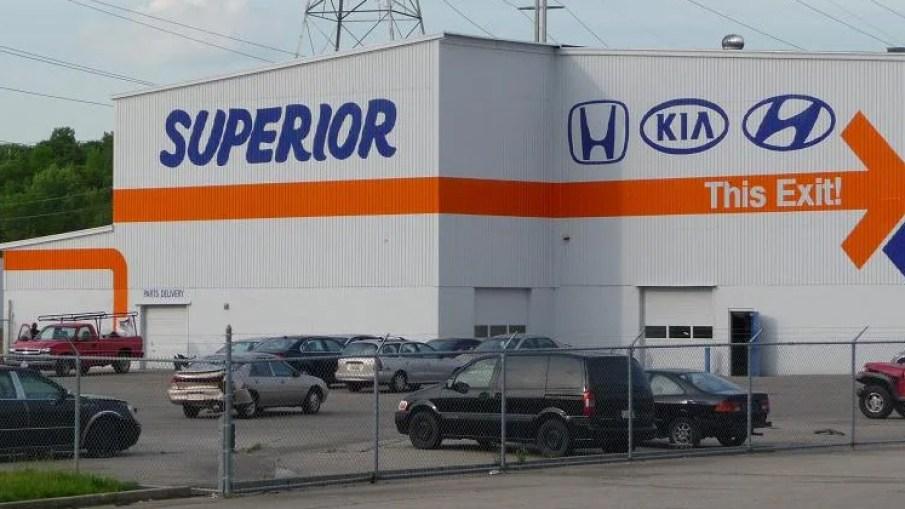 Superior Hyundai South In Cincinnati Oh Body Shop