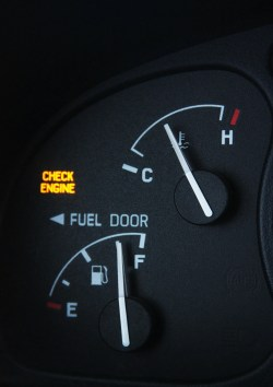 engine temperature gauge
