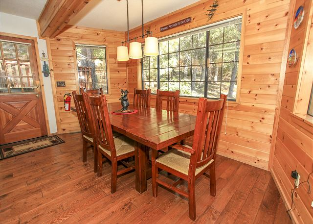 The ideal place to dine-in here in Big Bear.