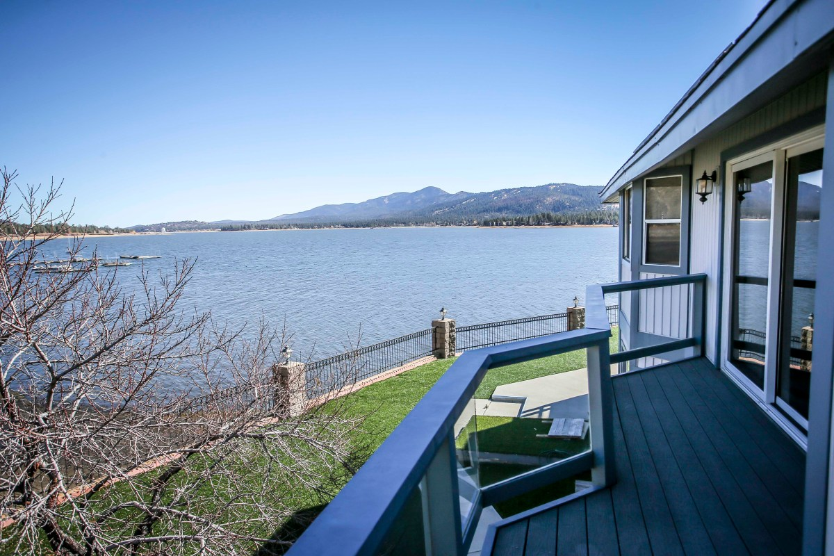 Lakefront Views of Big Bear Lake