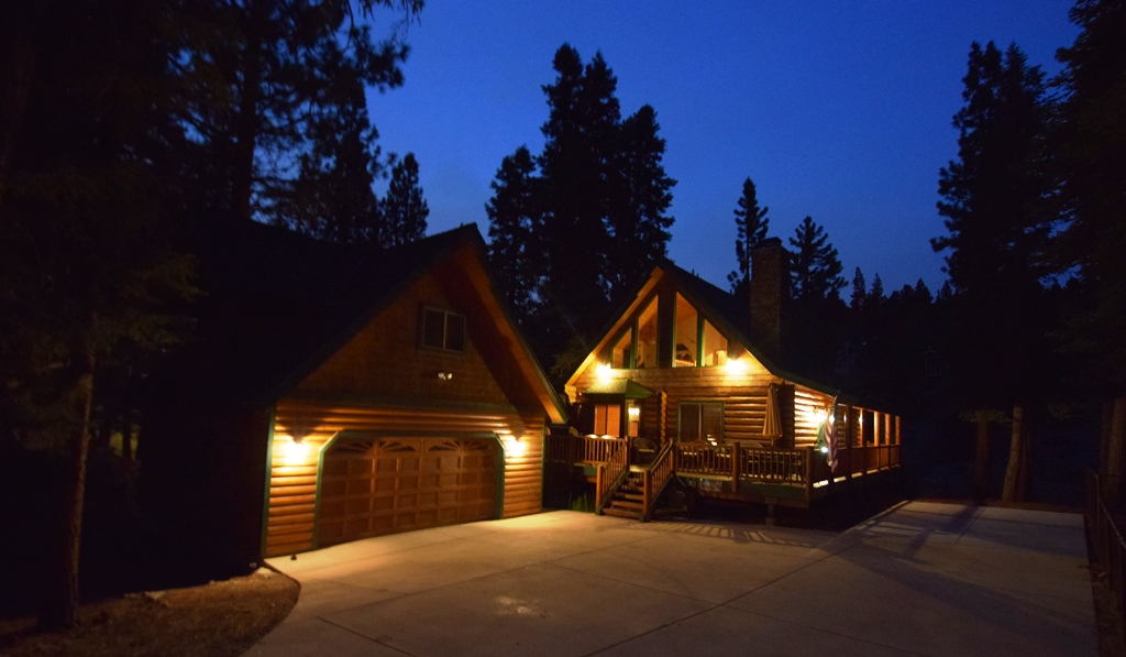This property includes four bedrooms and three baths. It is a great place to spend time in Big Bear.