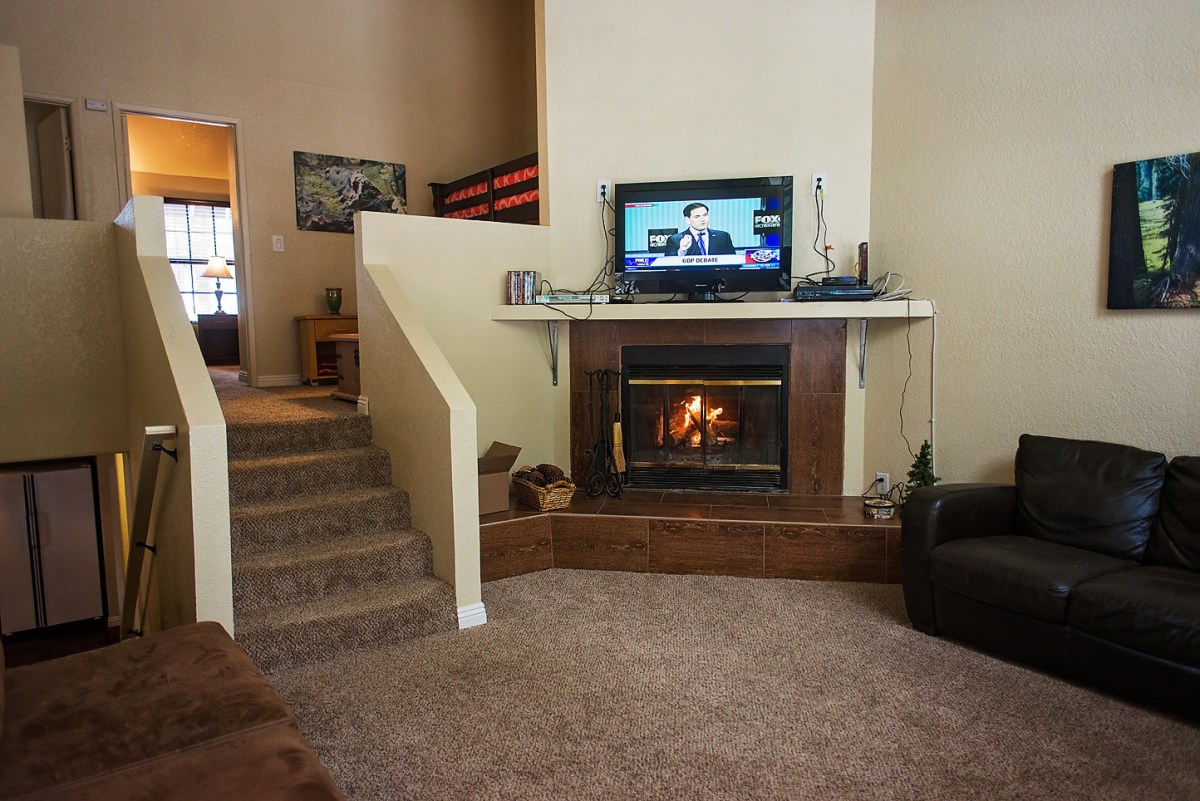 Living Room 1 with Fireplace