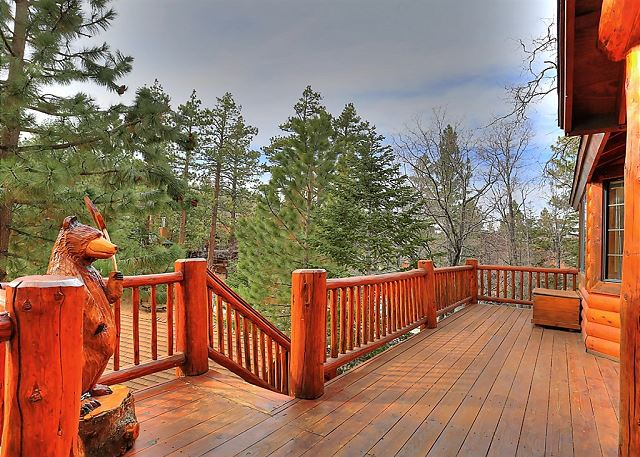 The ideal place to enjoy the weather or gaze at the stars.