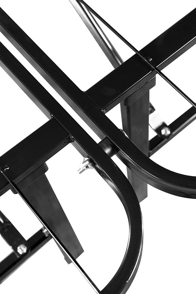 Queen Folding Metal Bed Frame Storage Platform Mattress