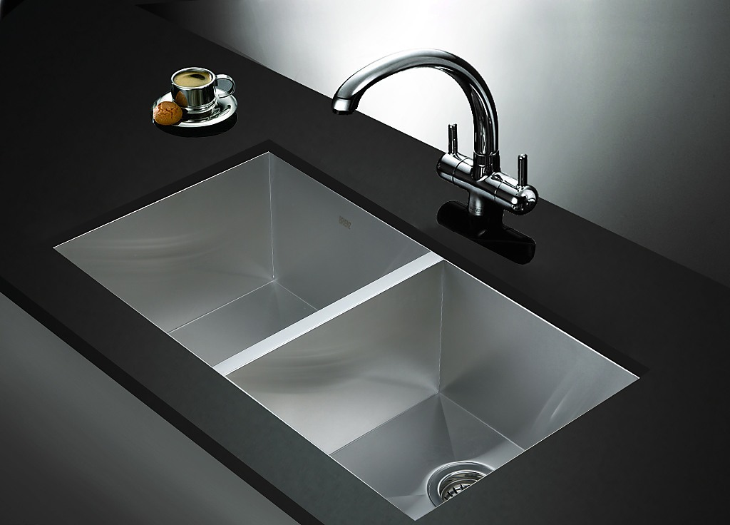 820x457mm Handmade Stainless Steel Sink With Waste And
