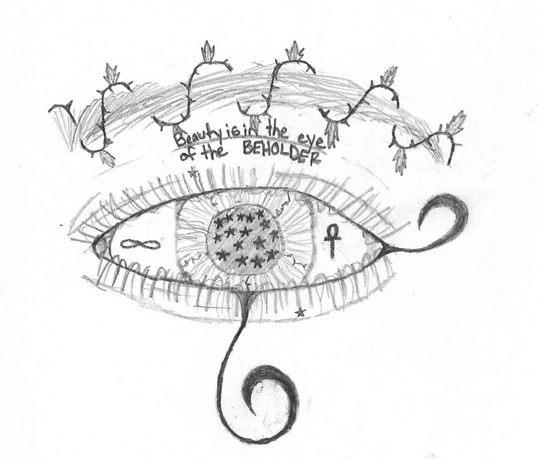 Eye Of The Beholder Tattoo Design By Manifest