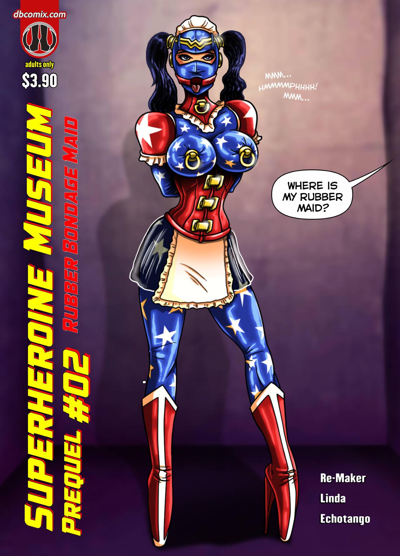 Superheroine Museum Prequel 2 by LindaDanvers