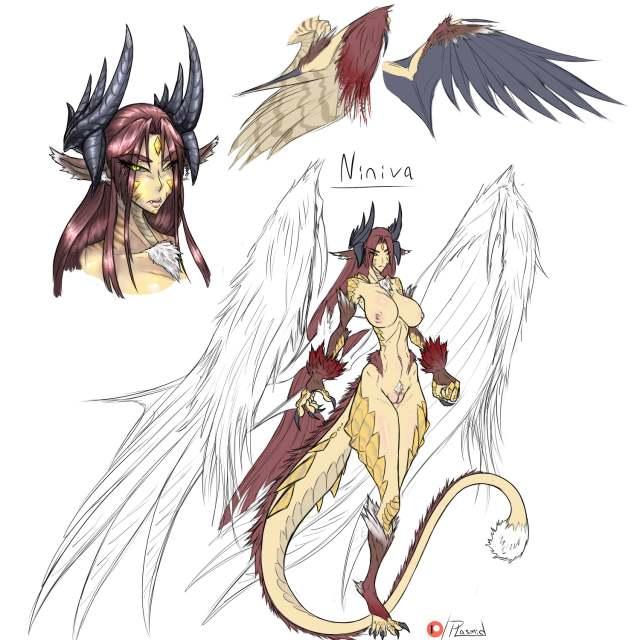 Hybrid Monster Girl Oc