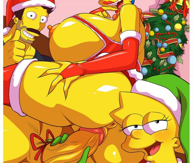 Merry Christmas From The Simpsons By Ventzx1