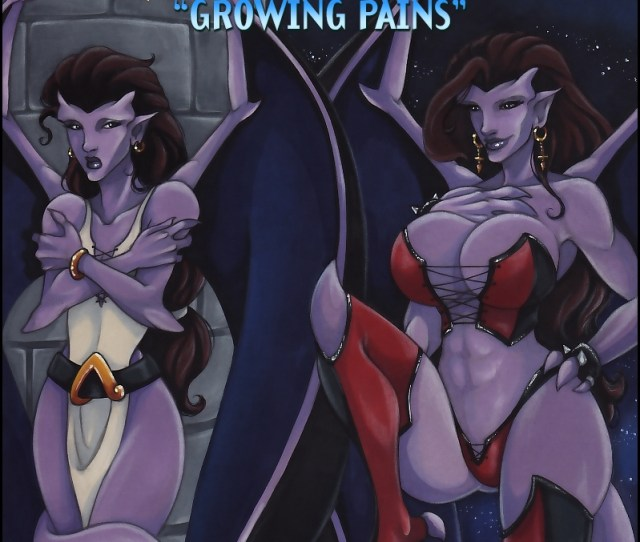 Gargoyles Growing Pains Cover