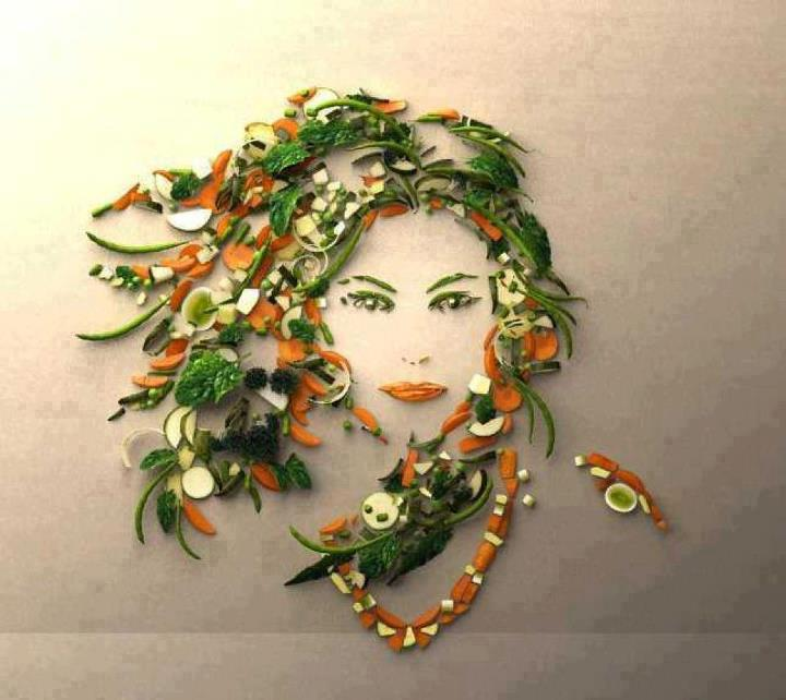 Creativity at its best - The Vegetable Beauty