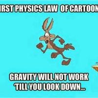 Physics of Cartoons