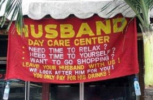husband day care centre