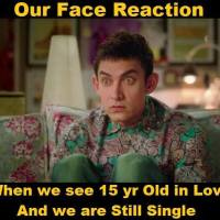 """A person with status """"single"""" would understand this PK face"""