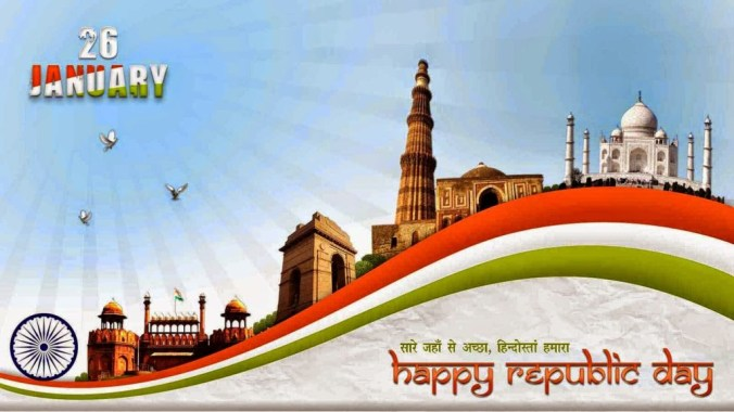 happy 66th republic day 26th january