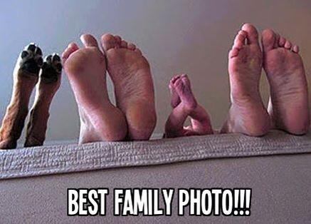 best family photo - love pets