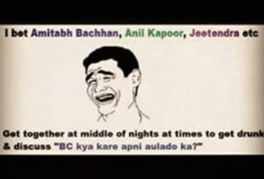 Discussion of Amitabh with jeetender