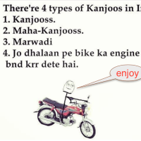 Different type of kanjoos in india