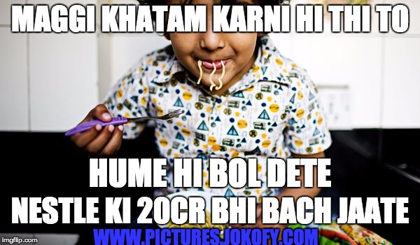 Kids reaction on Nestle's decision on maggi destruction