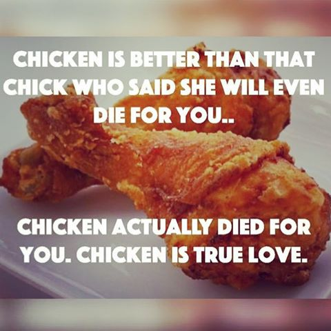 chicken love is the true love