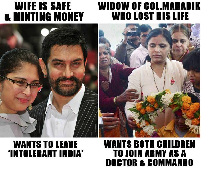 Aamir Khan's wife wants to leave india