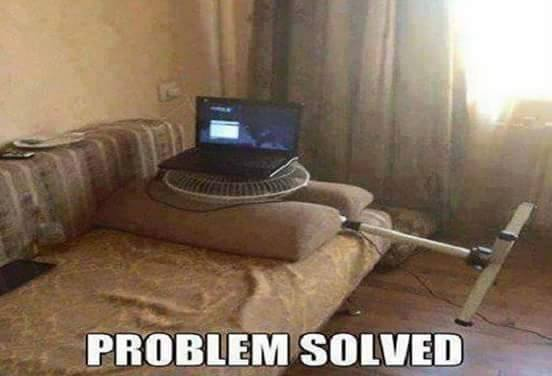 How to solve the heating problem of laptop
