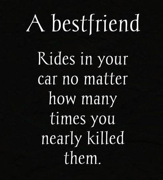 A bestfriend who uses your car - bestfriend trolled