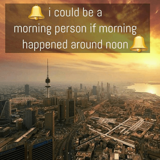 Are you a morning person - funny picture