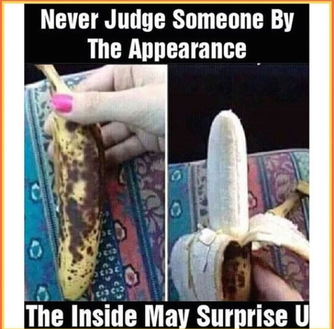 Never judge someone by the appearance - it might be surprising