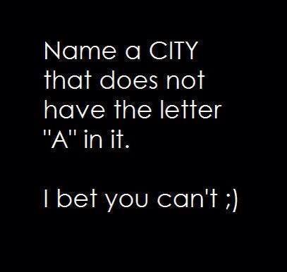 Can you pass this Name a City Challenge
