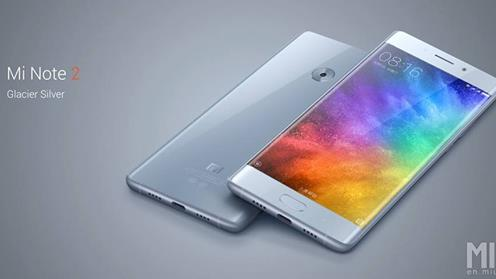 Xiomi Mi Note 2 curved screen and great specs