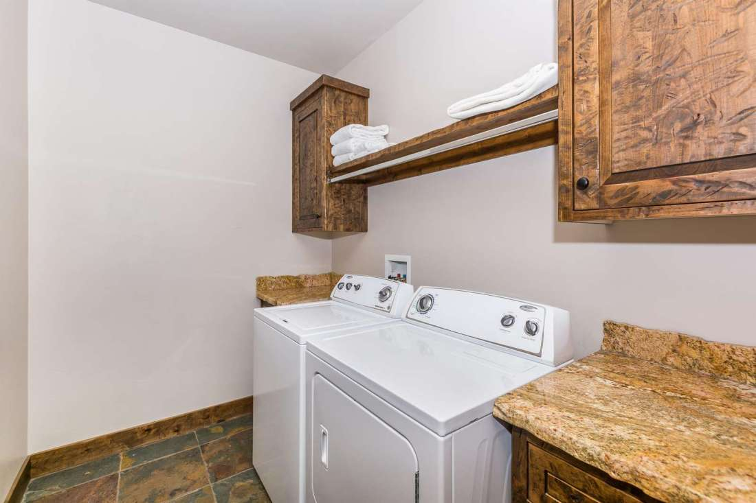 Laundry room available for guests use