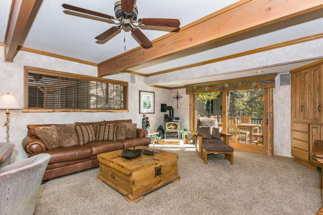Family with views and deck access