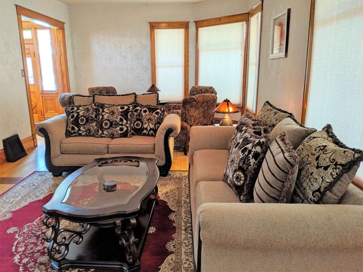 Comfortable Seating in the main level living room