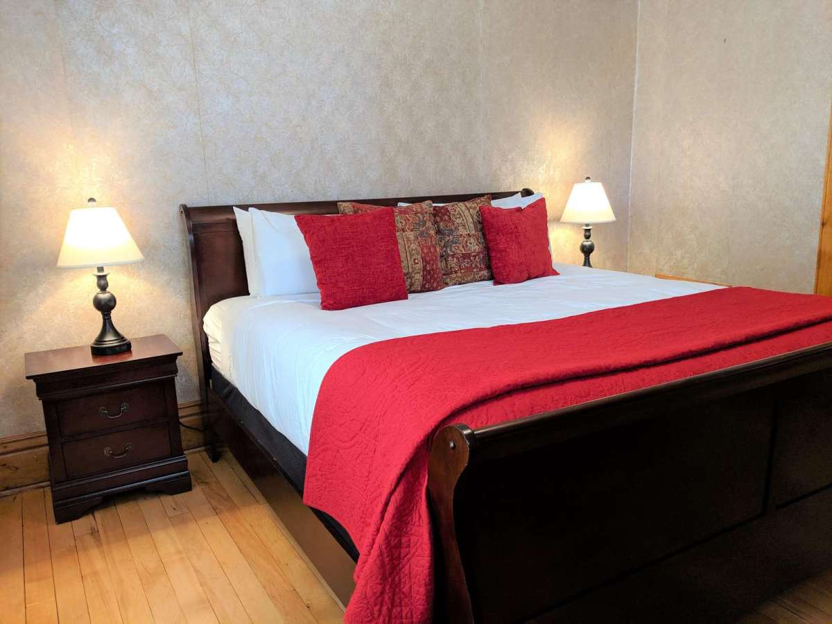 Bedroom #1 offers a comfy king size bed