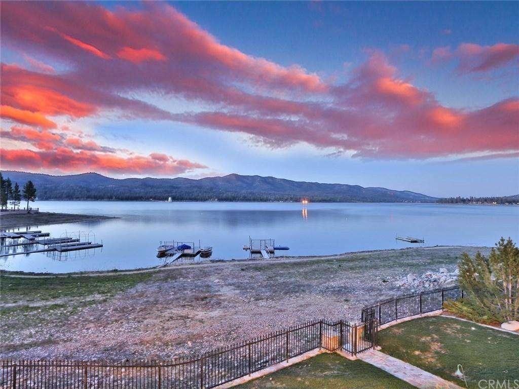 Incredible lake views