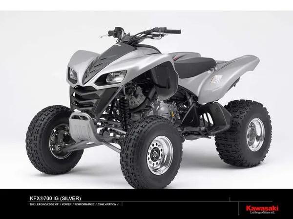 Kawasaki Kfx 700 Ig Silver Review