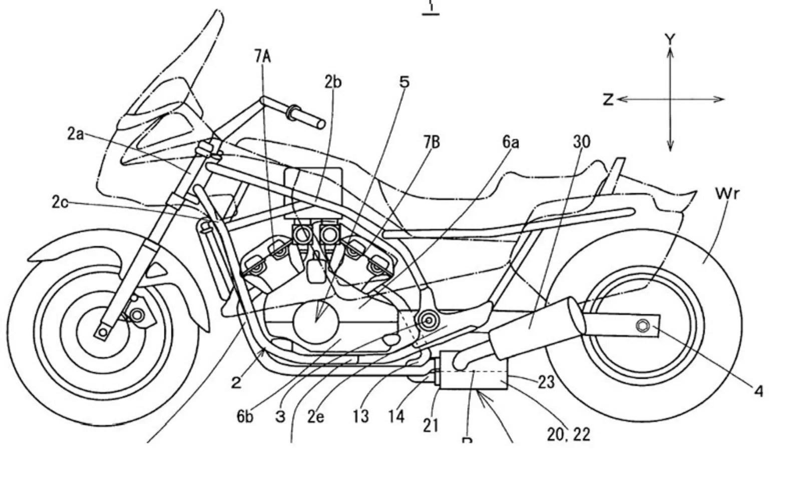 Yamaha V Max Patents Revealed News