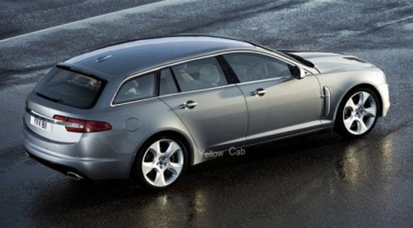 Jaguar Xf Station Wagon Renderings News Top Speed