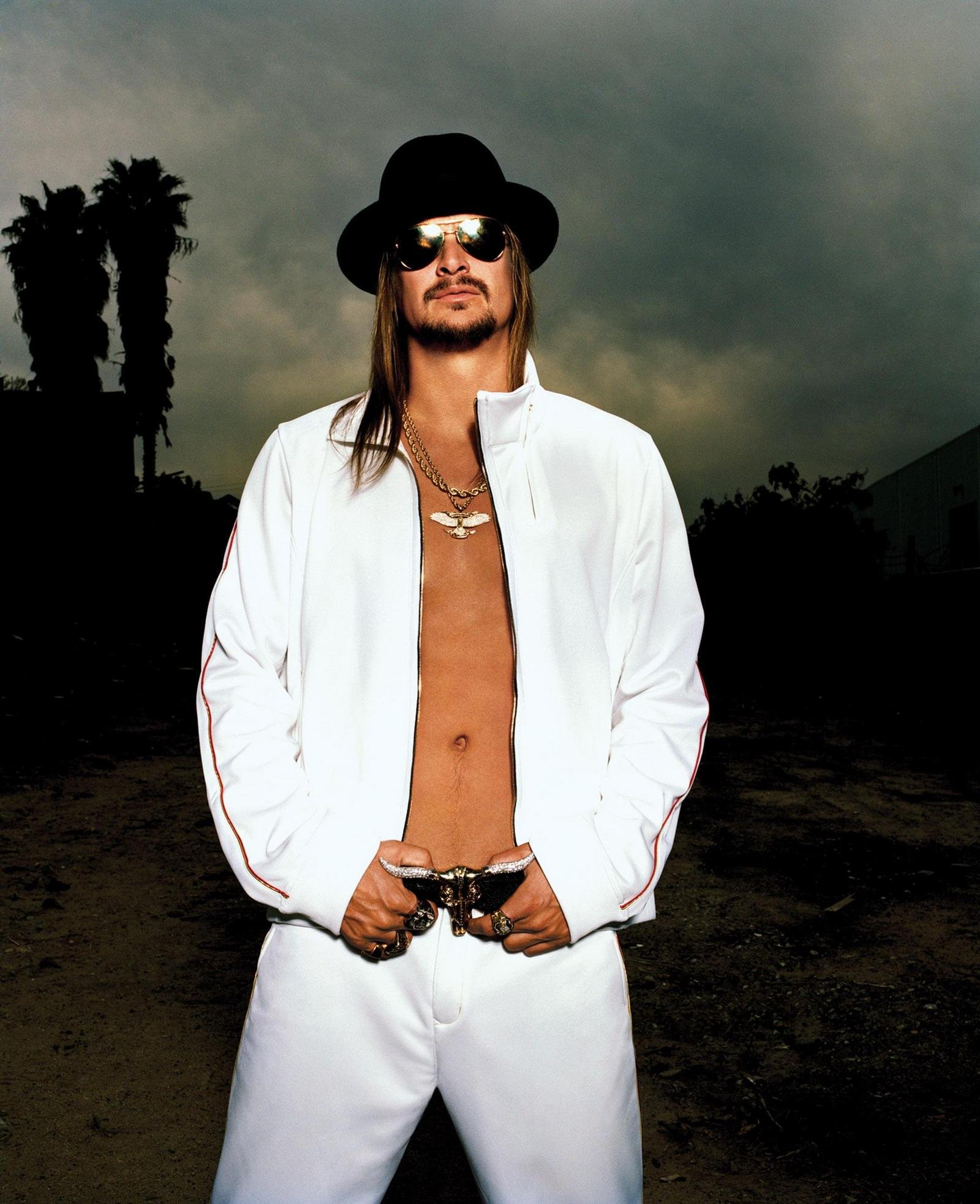 Kid Rock Flexes Detroit Muscle At GM Style News Top Speed