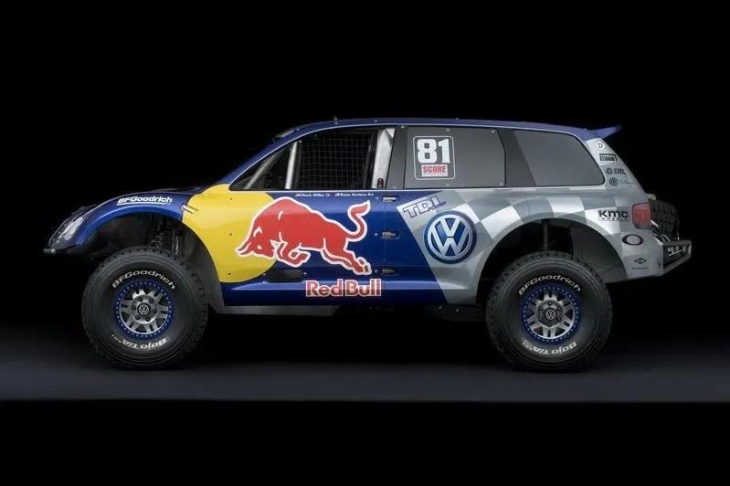 2009 Volkswagen Race Touareg Tdi Trophy Truck Review Top