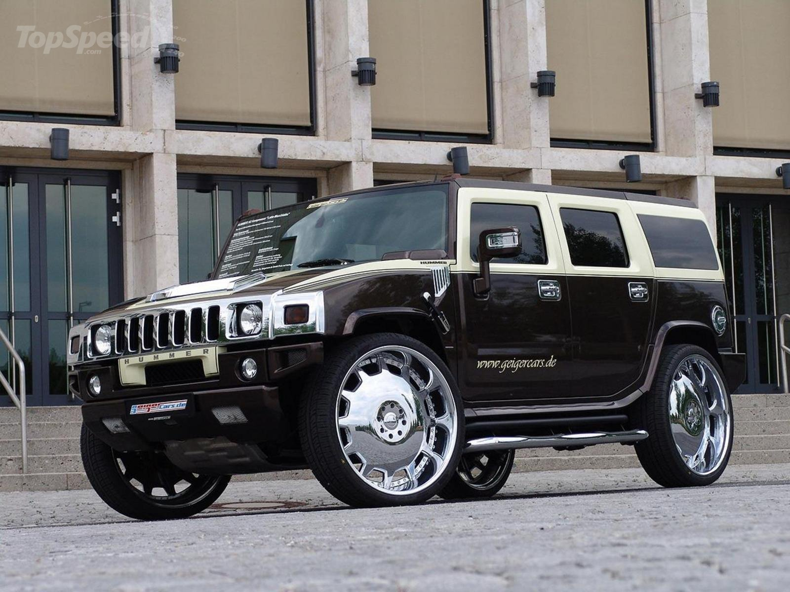Hummer H2 By GeigerCars Fit For A Pimp News Top Speed
