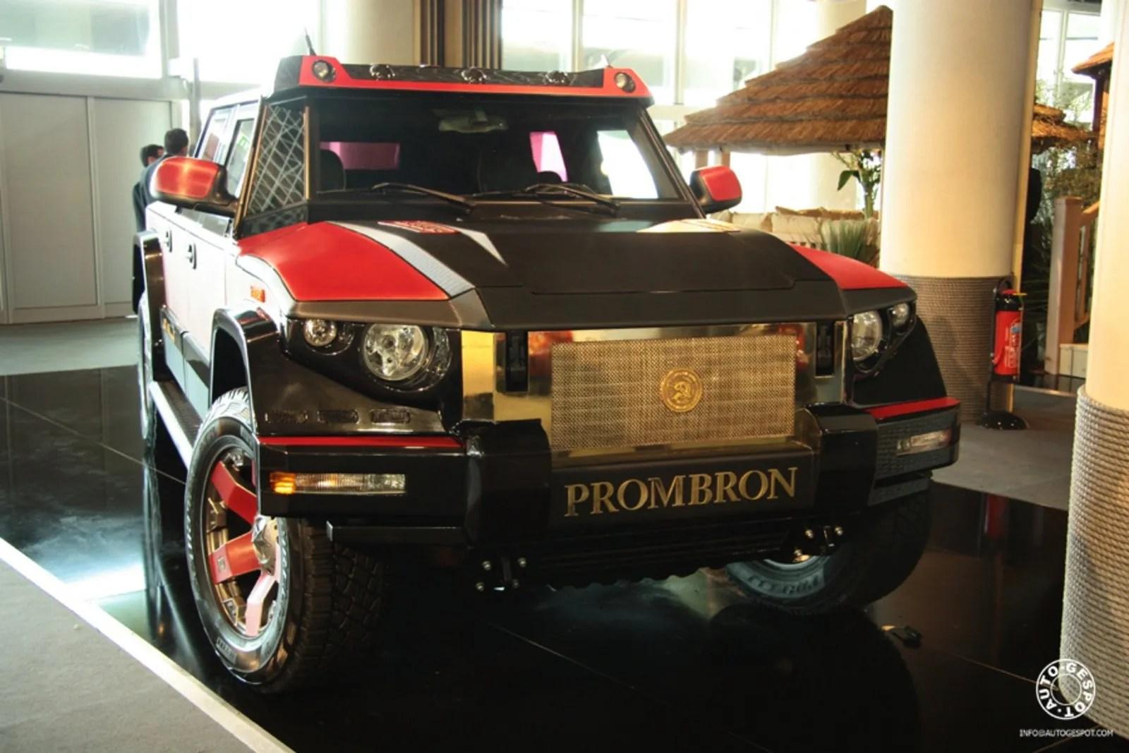 Dartz Kombat Prombron Monaco Red Diamond News Top Speed