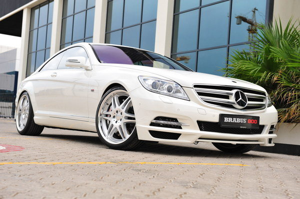 2012 Mercedes CL 800 Coupe By Brabus Car Review Top Speed
