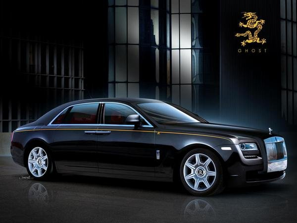 rolls royce ghost ewb year of the dragon picture