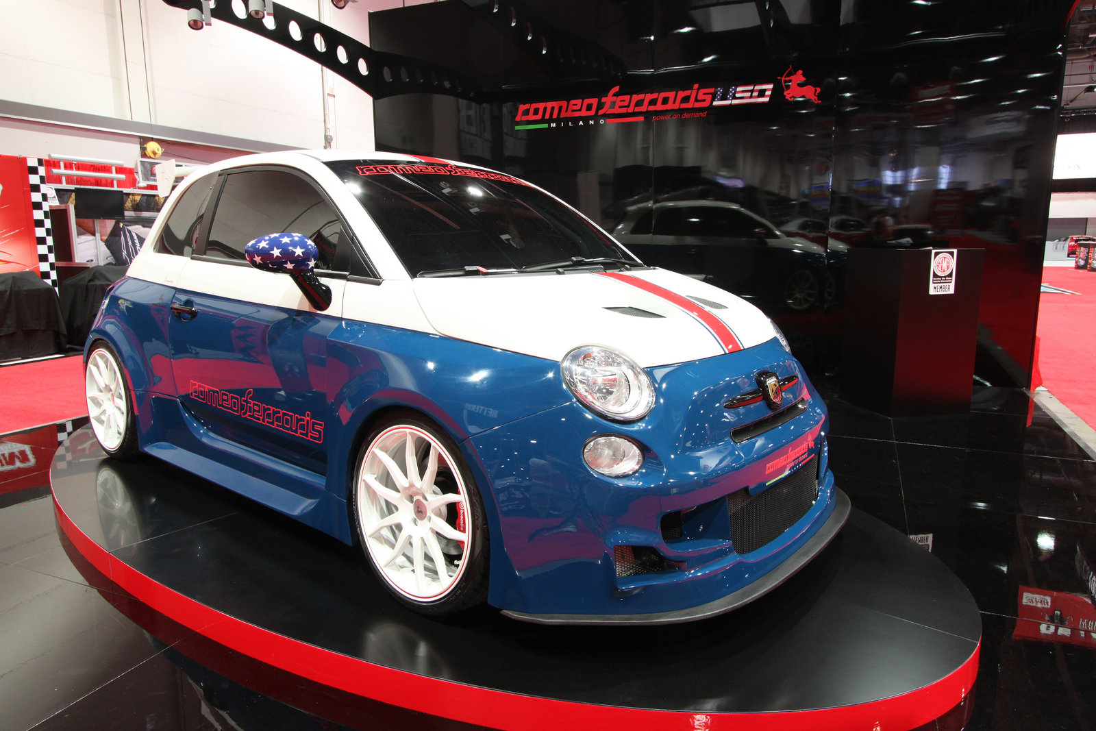 2013 Fiat 500 Abarth Cinquone Stradale By Romeo Ferraris