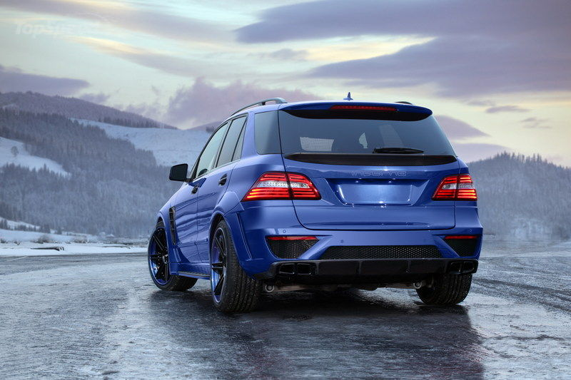 "2013 Mercedes-Benz ML 63 AMG ""Inferno"" by TopCar wallpaper image"