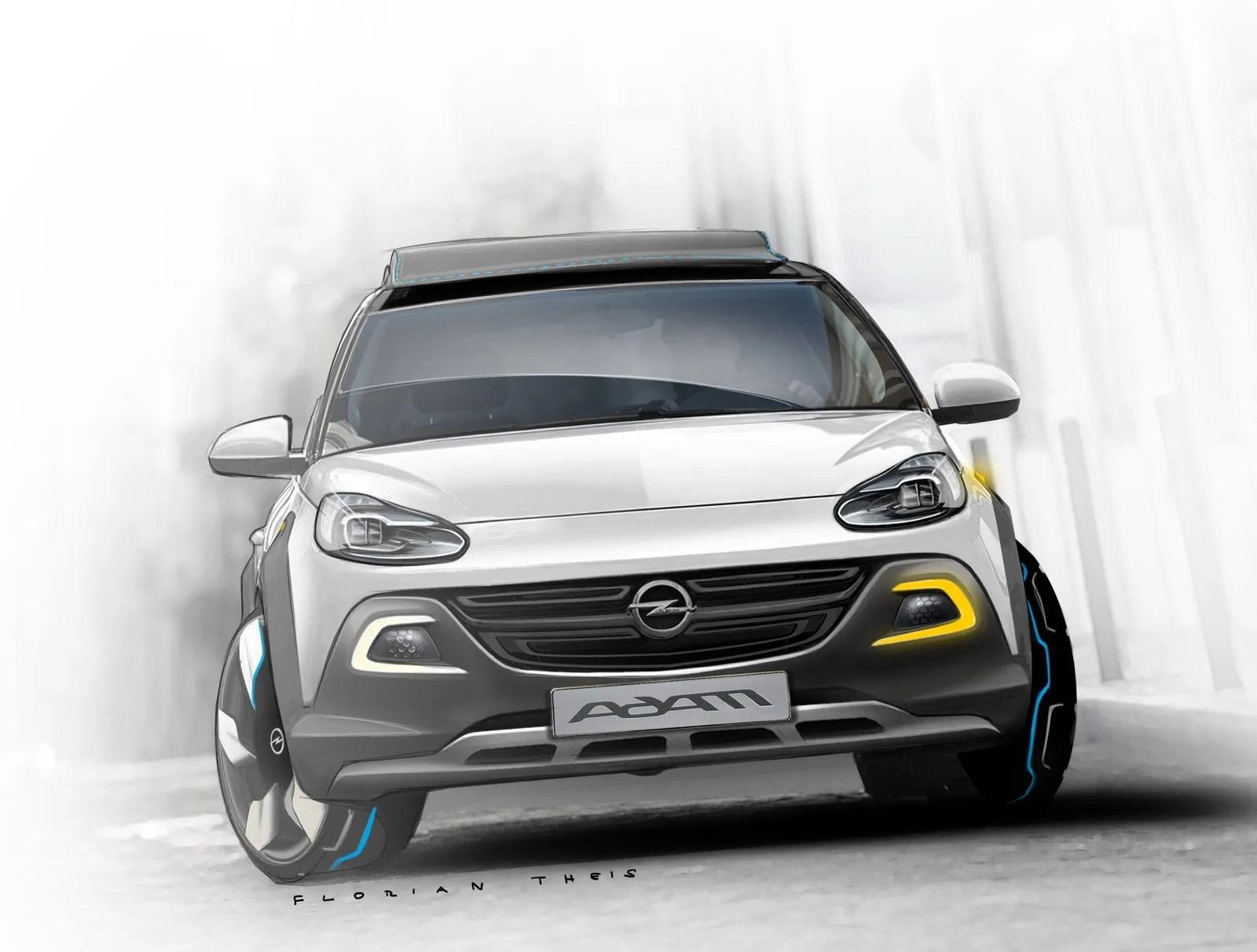 2013 Opel Adam Rocks Concept Top Speed